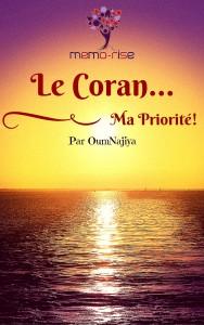 Le Coran, Ma priorité
