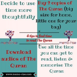 Finding time to read the Quran (2) - memo-rise com