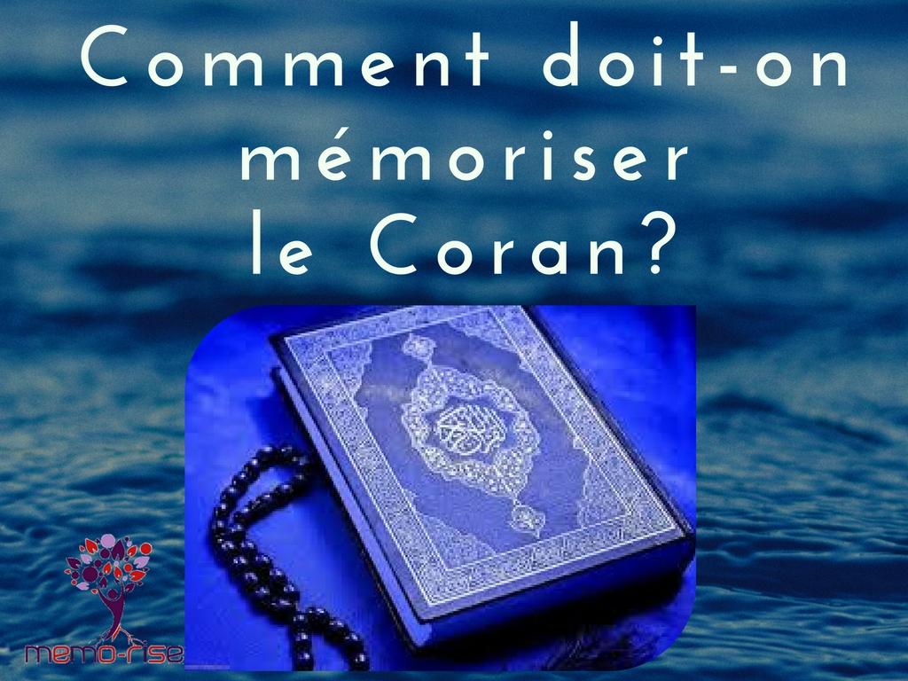 méthode pour mémoriser le Coran   Programmation …